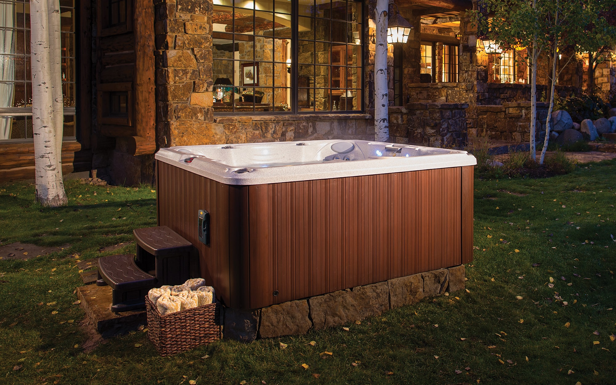 Jacuzzi Hot Tubs J-245 Installation in the Triangle Region, North Carolina
